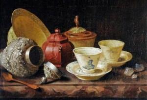 Seventeenth century tea-time with Pieter Gerritsz. van Roestraeten (1630–1700).